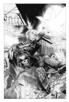 Punisher alley ambush Comic Art