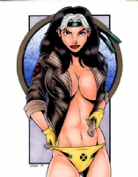 Rogue Topless #1 (2005) Comic Art