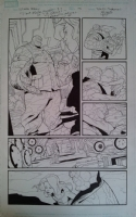 SANDOVAL, RAFA Ultimate Enemy #1 Pg 13  Comic Art
