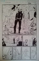 SANDOVAL, RAFA Ultimate Enemy #2 Pg 8 Comic Art