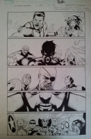 SANDOVAL, RAFA Ultimate Enemy #4 Pg 13 Comic Art
