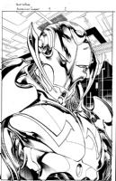 Annihilation: Conquest 4 p01, Comic Art