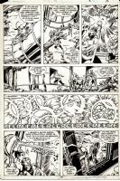 Avengers 198 p10, Comic Art