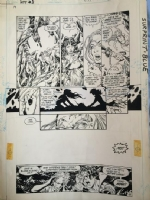 New Teen Titans Baxter 5 p16, Comic Art
