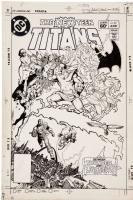 New Teen Titans (v1) #32, Comic Art