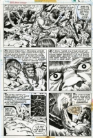 2001 Space Odyssey #1 p.10 - Kirby & Royer  Comic Art