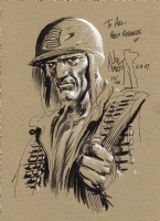 Sgt. Rock - Joe Kubert Comic Art