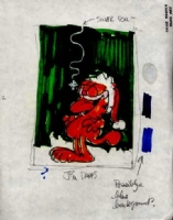 Garfield Gift Bag Design - Jim Davis Comic Art