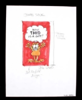 Garfield Card Design - Jim Davis Comic Art