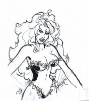 A POISON IVY SCKETH 2005 Comic Art