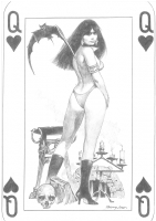 VAMPIRELLA PENCIL  Comic Art