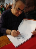 TANINO LIBERATORE  AND MY COMIC BOOK  Comic Art