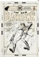 Blackhawk 245 Cover Comic Art