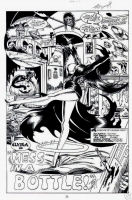 Elvira splash page - Tod Smith Comic Art