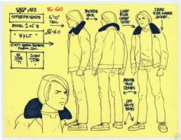 Superfriends Walt Comic Art