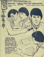 Alex Toth's  Sparks  Sealab  Comic Art