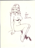 Wally Wood Sally Forth Nude Comic Art