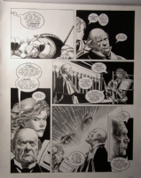 David Roach Screaming Skull Comic Art