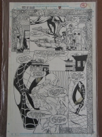 Spiderman Web of Doom #1, pg.7 Comic Art