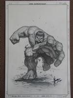 Hulk Movie Style Guide #2 Comic Art