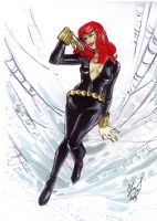 Black Widow by Cassandra James, Comic Art