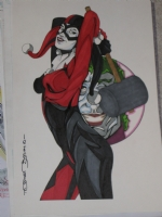 2012-04 Harley Quinn by Tod Allen Smith Comic Art