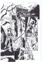 Fear Itself: The Fearless #2, P. 7 by Mark Bagley, featuring Valkyrie!, Comic Art