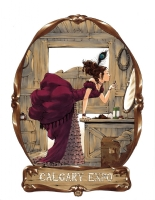 Saloon Girl by Amy Reeder Hadley!, Comic Art