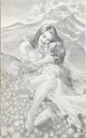 Snow White and Bigby Wolf by Lan Medina Comic Art