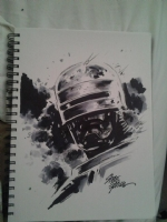 Robocop by Steve Epting Comic Art