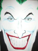 Joker painting, Comic Art