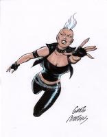 Storm 80s, Comic Art