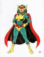 Big Barda, Comic Art
