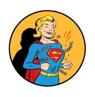 Supergirl classic pinup, Comic Art