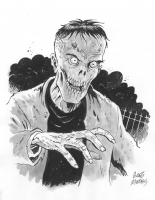 Zombie, Comic Art