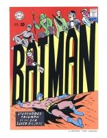 BATMAN Rogues Gallery - Flash 174 remix - final color, Comic Art