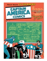 Captain America - Capmobile/Batmobile remix/recreation - Detective Comics 156 tribute, Comic Art