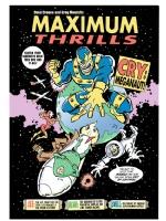 Maximum Thrills cover art, Comic Art