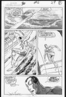 Namor #6 Duotone, Comic Art