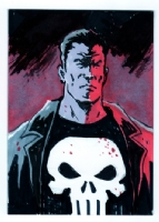 Punisher, Comic Art
