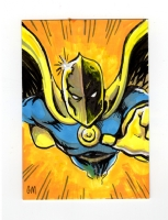 Dr. Fate sketchcard, Comic Art