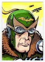 Enemy Ace, Comic Art