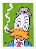 Howard The Duck sketchcard, Comic Art