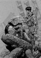 AKIRA's Kaneda, Comic Art