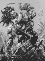 Weapon X dos., Comic Art