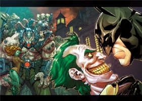 Arkham Asylum game promo comic, Comic Art