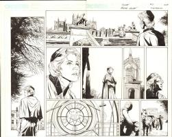 Butch Guice Ruse 2 page 14-15 Comic Art