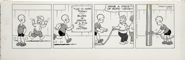 Henry - May 29, 1970 Comic Art