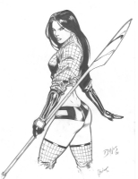 Billy Tucci 's      SHI - Ana Ishikawa   by Ed Benes , Rebecca Buchman Comic Art