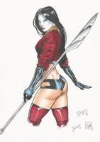 Billy Tucci 's      SHI - Ana Ishikawa   by Ed Benes , Rebecca Buchman , Nei Comic Art
